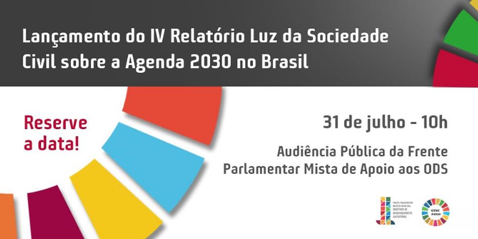 GT Agenda 2030 - Relatório Luz da Sociedade Civil