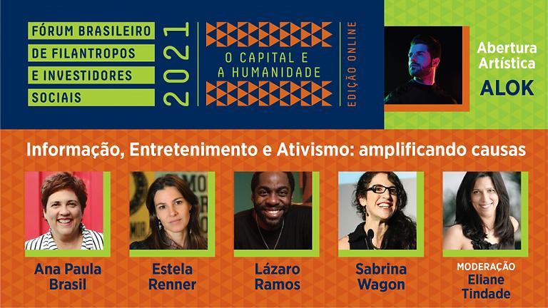 Fórum Brasileiro de Filantropos e Investidores Sociais: Amplificando Causas