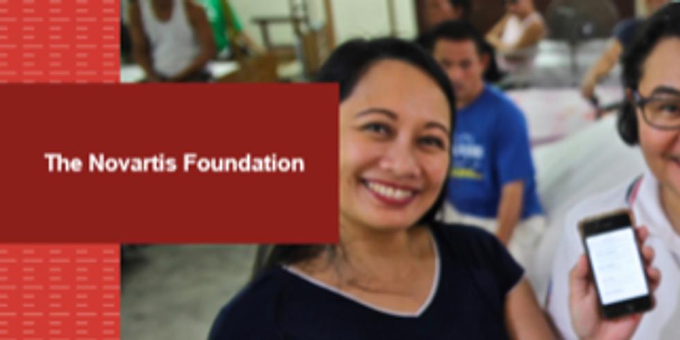 Webinar Novartis Foundation - O Papel da Inteligência Artificial na Resposta do COVID-19