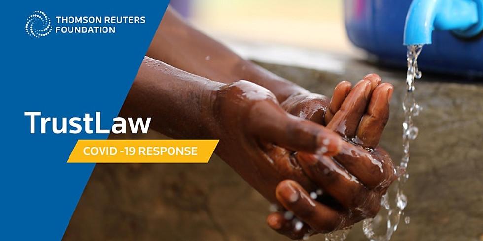 """TrustLaw - Webinar: """"COVID-19: Impactos contratuais e boas práticas de doações a organizações da sociedade civil"""""""