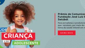 Prêmio de Comunicação Fundação José Luiz Egydio Setúbal - inscrições até 11/6/2021