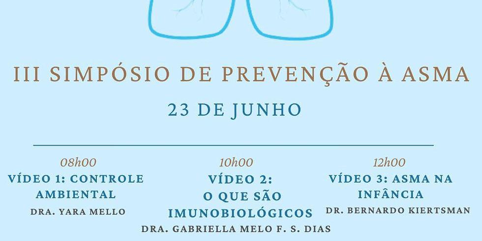 Associação Brasileira da Asmáticos - 3º Simpósio de prevenção à asma