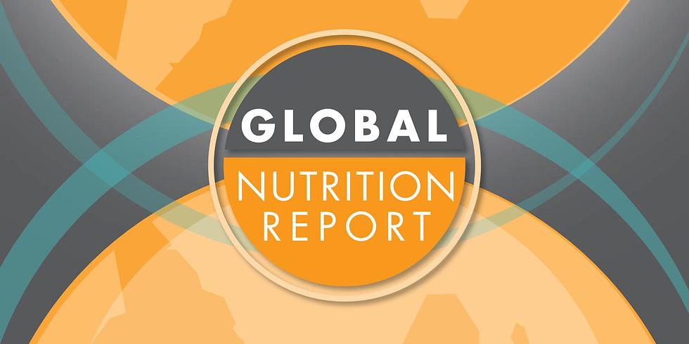 Lançamento Global Nutrition Report 2020