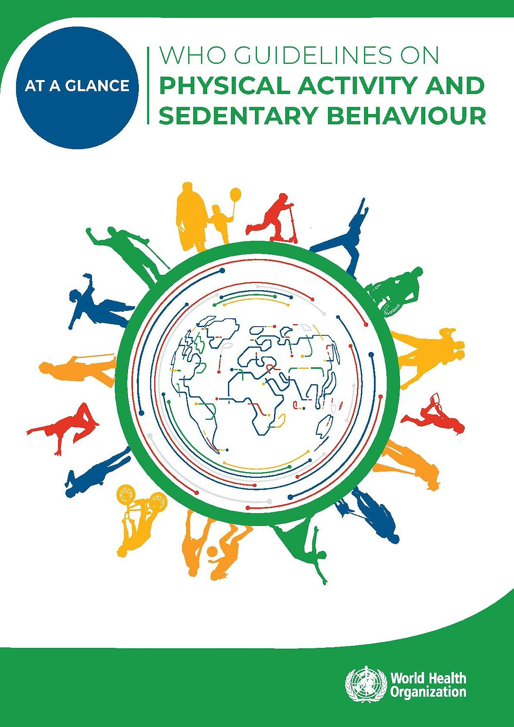 Diretrizes sobre atividade física e comportamento sedentário.