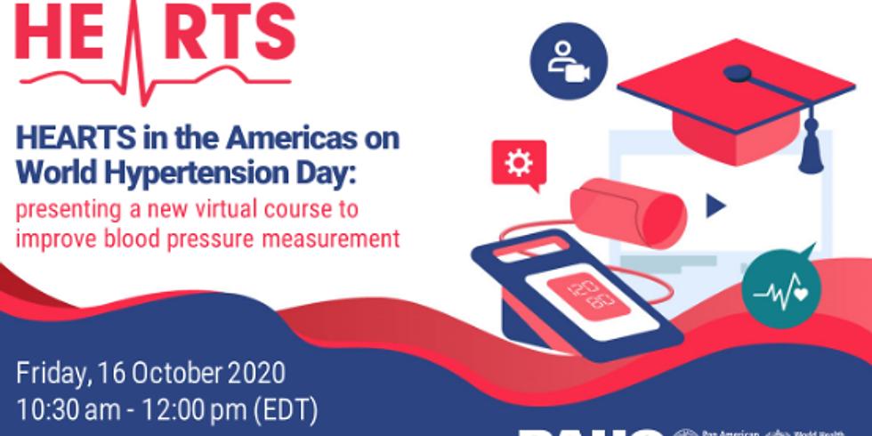 PAHO - Curso virtual sobre medição de pressão arterial