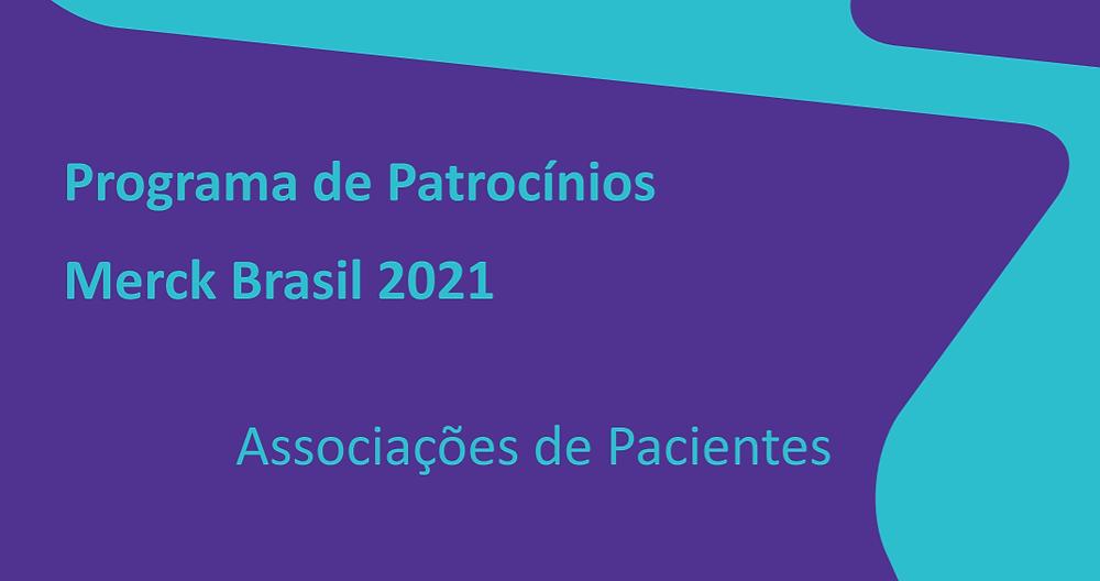 Programa de patrocínios Merck Brasil.