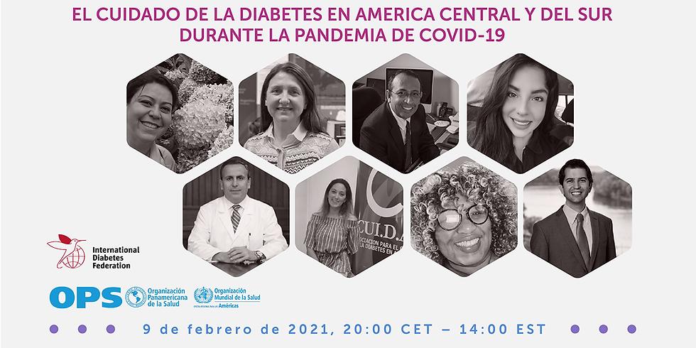IDF - Os cuidados com o diabetes durante a pandemia na América Central e do Sul