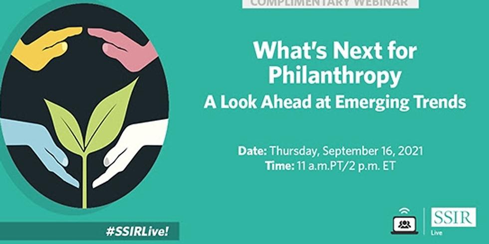Stanford Social - O futuro da filantropia: um olhar para as tendências emergentes