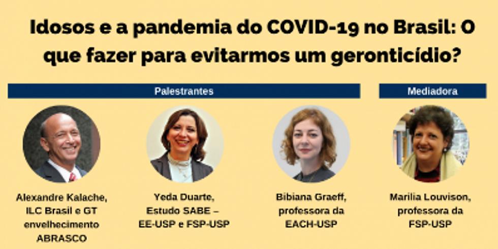 FSP-USP: Idosos e Pandemia de COVID-19 no Brasil