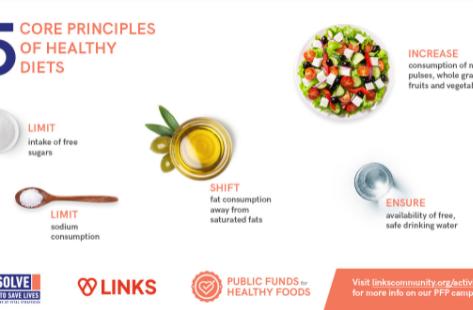 Definição de alimentação saudável pela Organização Mundial da Saúde