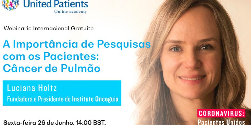 United Patients - Pesquisa com Pacientes com Câncer de Pulmão