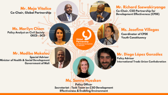 Parceria Global - Diálogos de várias partes interessadas para fortalecer as OSCs