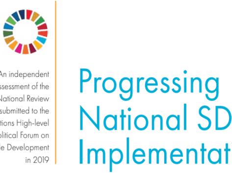 Progresso Nacional na Implementação dos ODS