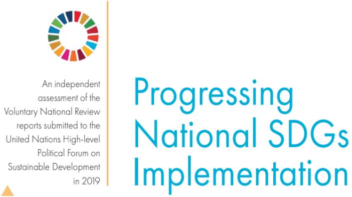 Progresso Nacional na Implementação dos ODS.