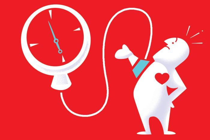 Monitorização da pressão arterial.