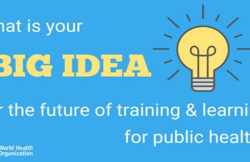 Qual é a Sua Ideia para o Futuro da Saúde Pública? - Inscrições até 8/6/2020