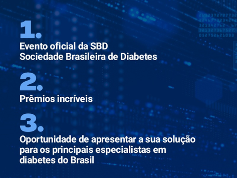 SBD lança a iniciativa Diabetes Innovation Challenge - inscrições até 20/4/21