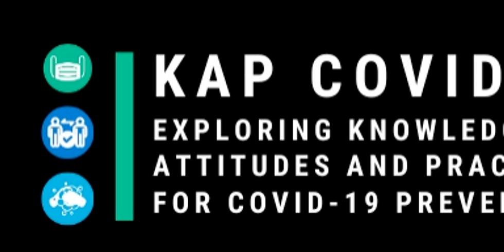 Johns Hopkins - Utilizando dados da pesquisa KAP COVID para gerenciar a infodemia