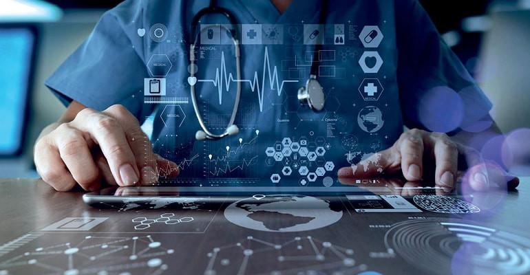 Tecnologia e saúde.