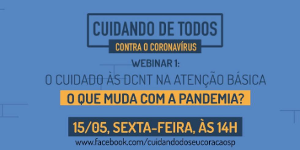 SMS-SP: O Cuidado às DCNTs na Pandemia