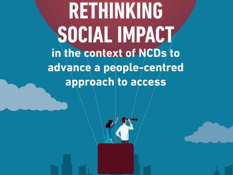 NCD Alliance: Repensando o impacto social no contexto de DCNTs