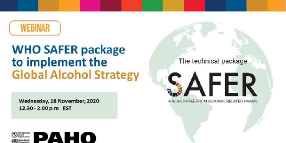 OPAS - Estratégia global contra o álcool