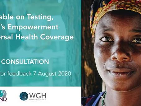 Empoderamento e cobertura universal de saúde da mulher - Inscrições até 21/8/2020