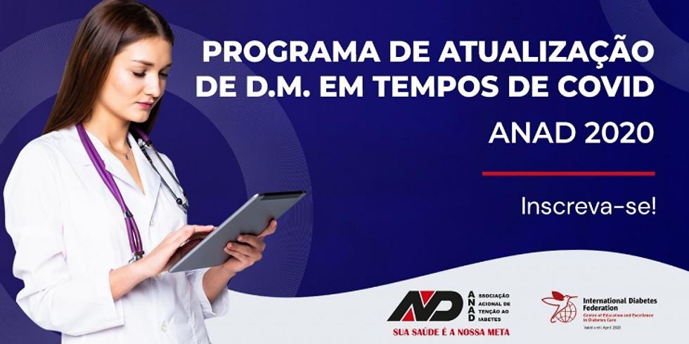 ANAD - Programa de atualização de DM em tempos de COVID