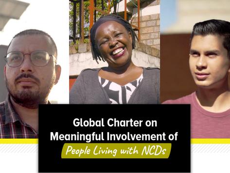FórumDCNTs apoia Global Chart de Envolvimento Significativo da NCD Alliance