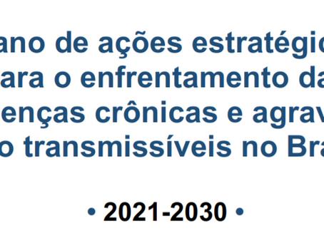 Recomendações do FórumDCNTs para o Plano Nacional de Enfrentamento às DCNTs 2021-2030