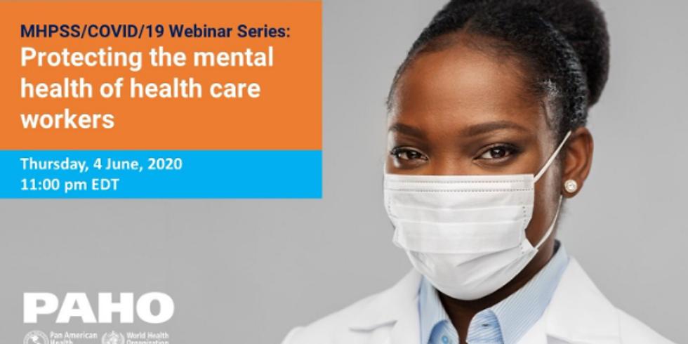PAHO - Cuidando da Saúde Mental dos Profissionais de Saúde