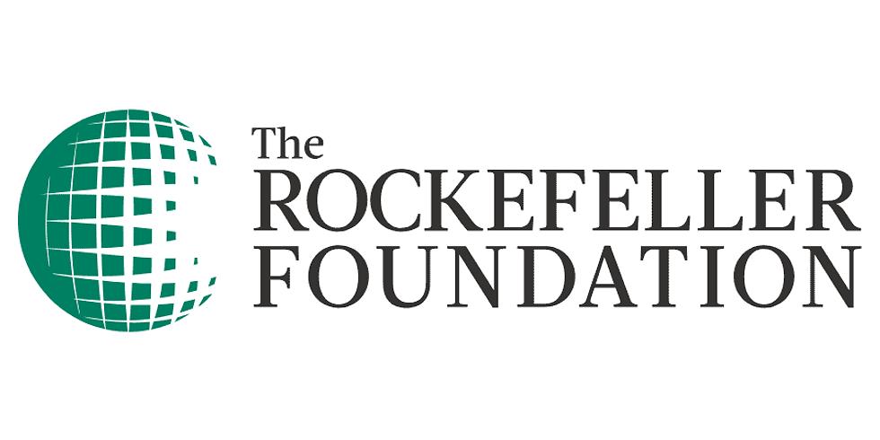Rockefeller Foundation - Lançamento do relatório regional das Américas da Comissão 3-D