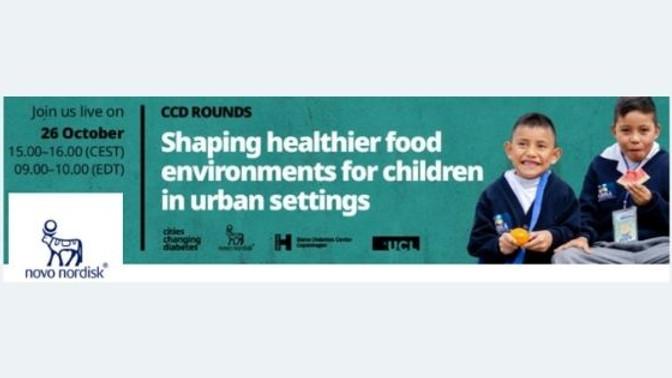 Novo Nordisk - Ambientes de alimentação mais saudáveis para crianças em cidades urbanas
