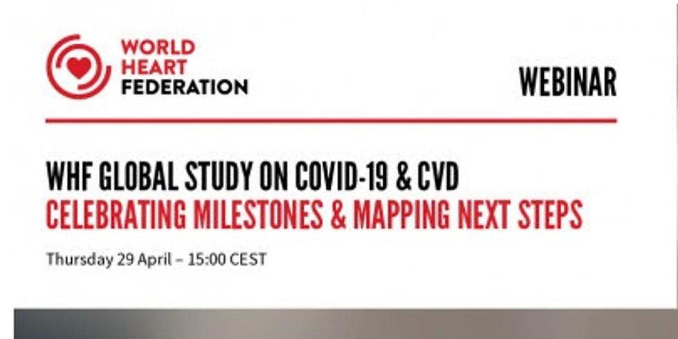 World Heart Federation - Estudo global sobre COVID-19 e DCV