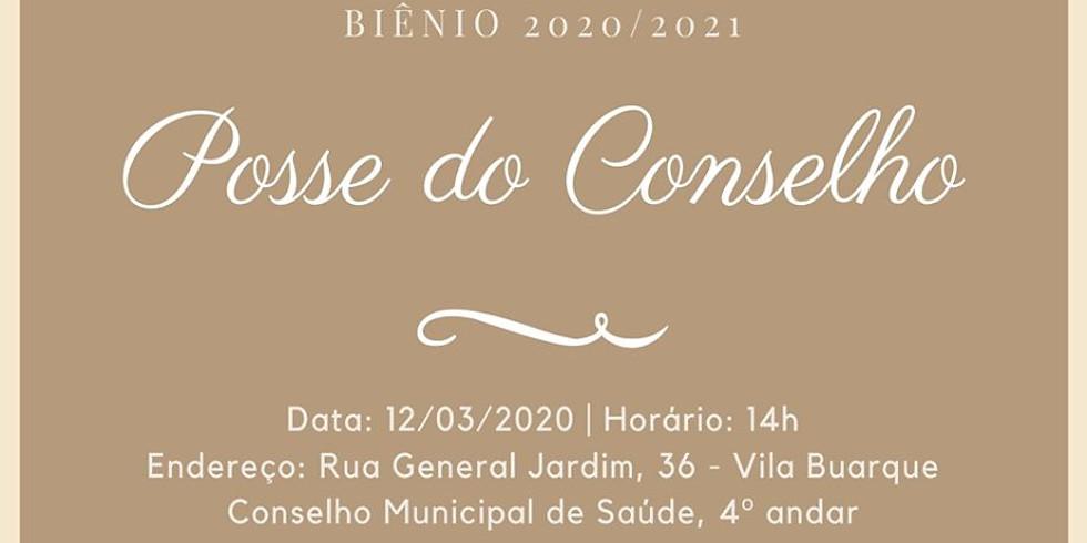 Posse do Conselho Municipal de Saúde de São paulo
