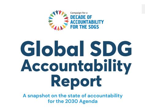 SDG Accountability lança relatório sobre o estado global da implementação da Agenda 2030