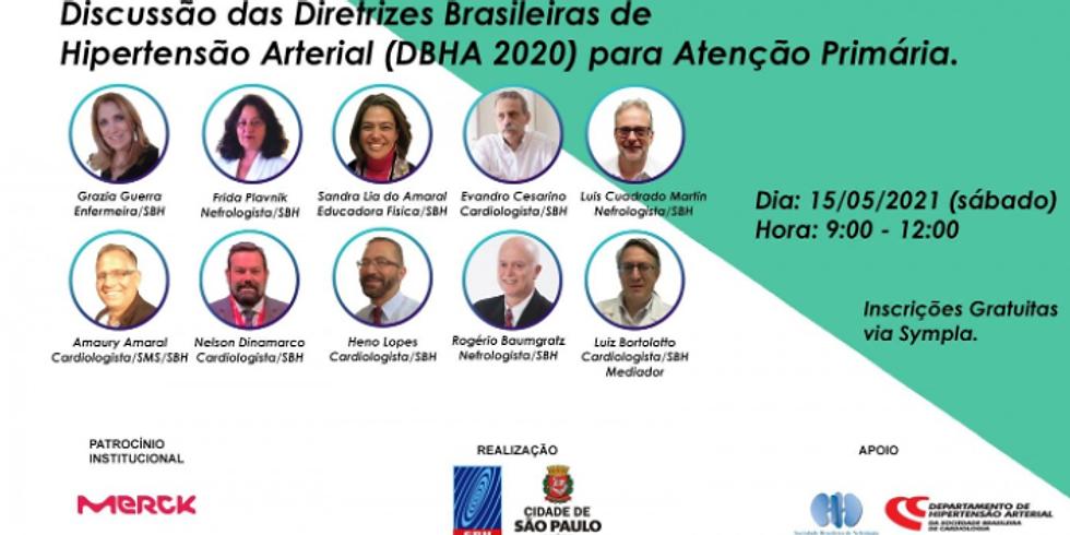 Sociedade Brasileira de Hipertensão - Diretrizes Brasileiras de Hipertensão Arterial para Atenção Primária