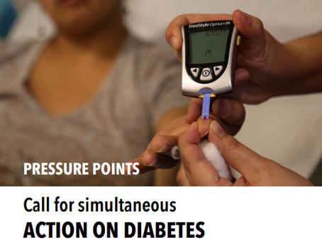 Fortalecendo os sistemas de saúde através de ações voltadas ao diabetes e hipertensão