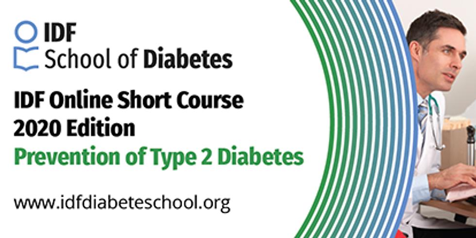 Federação Internacional de Diabetes - Curso sobre Prevenção do Diabetes tipo 2
