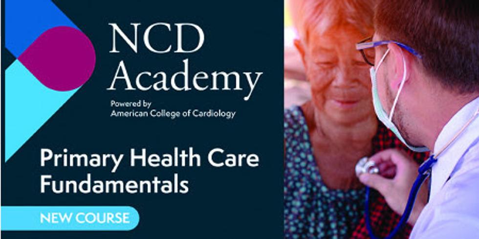 NCD Academy - Um chamado à ação para equipes de saúde primária