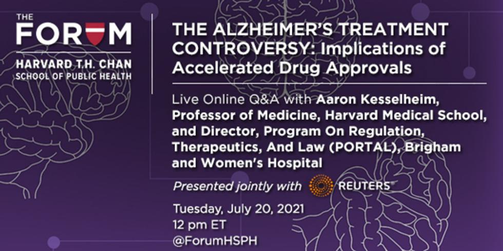 Harvard T.H. Chan - Controvérsias do tratamento do Alzheimer