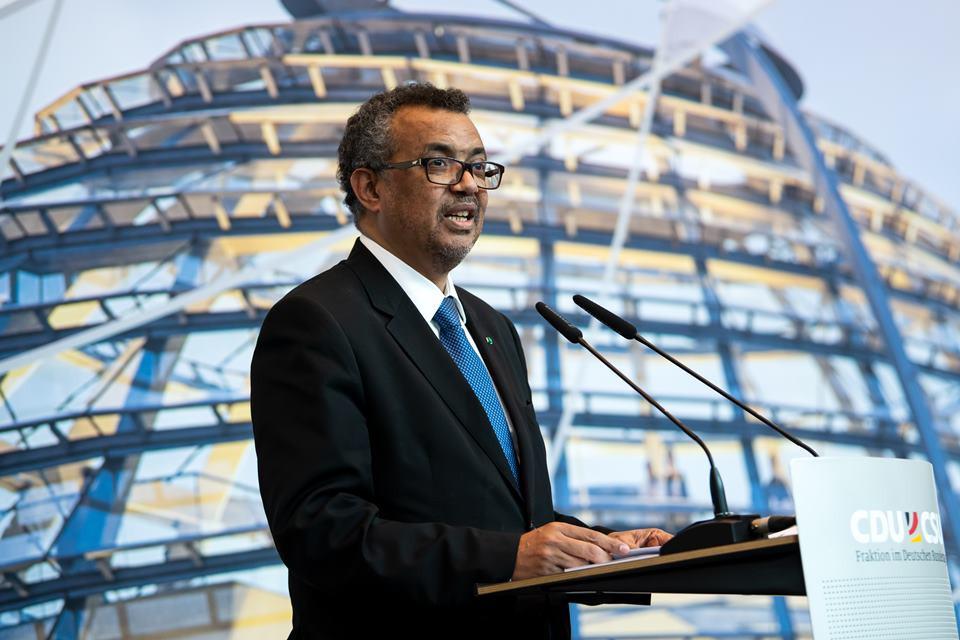 Dr. Tedros Adhanom Ghebreyesus, Diretor-Geral da Organização Mundial da Saúde.