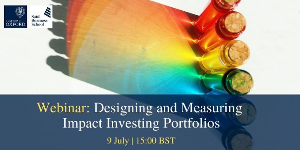 Oxford - Medindo Investimentos de Impacto