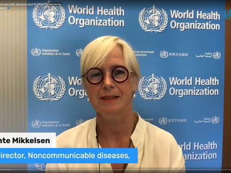 WHO - Cuidando das doenças crônicas não transmissíveis durante e após a pandemia de COVID-19