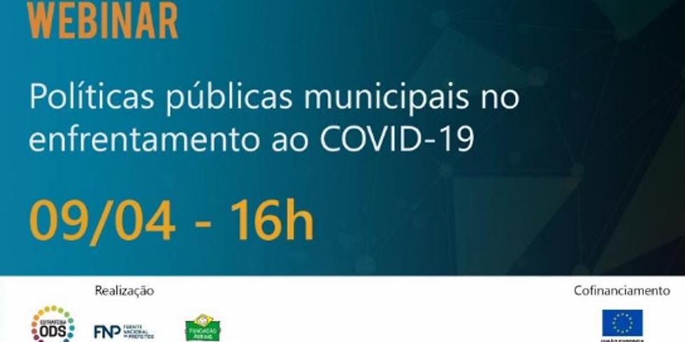 """Estratégia ODS Oferece Webinar Sobre """"Políticas Públicas Municipais no Enfrentamento do COVID-19"""""""