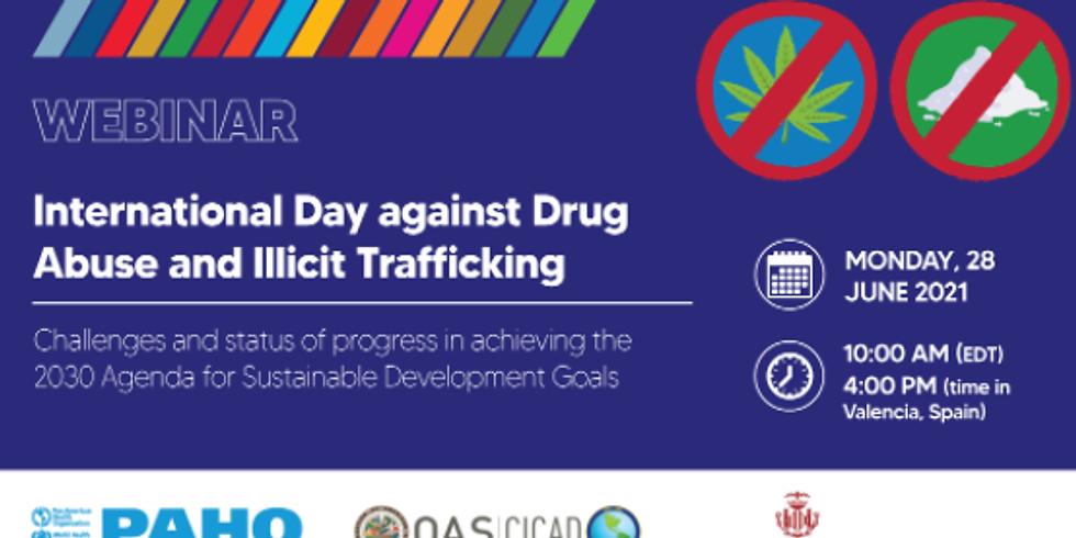 OPAS - Dia Internacional contra o abuso de drogas e tráfico ilícito