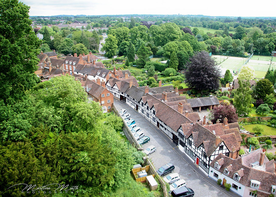 Blick über Warwick