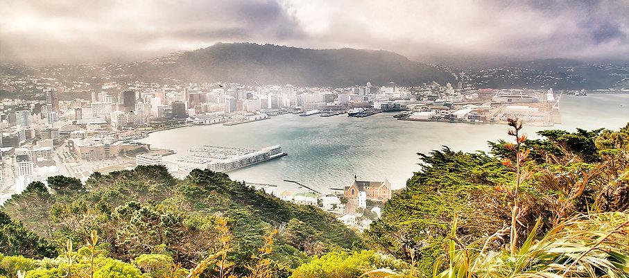 Aussicht vom Mount Victoria, Wellington