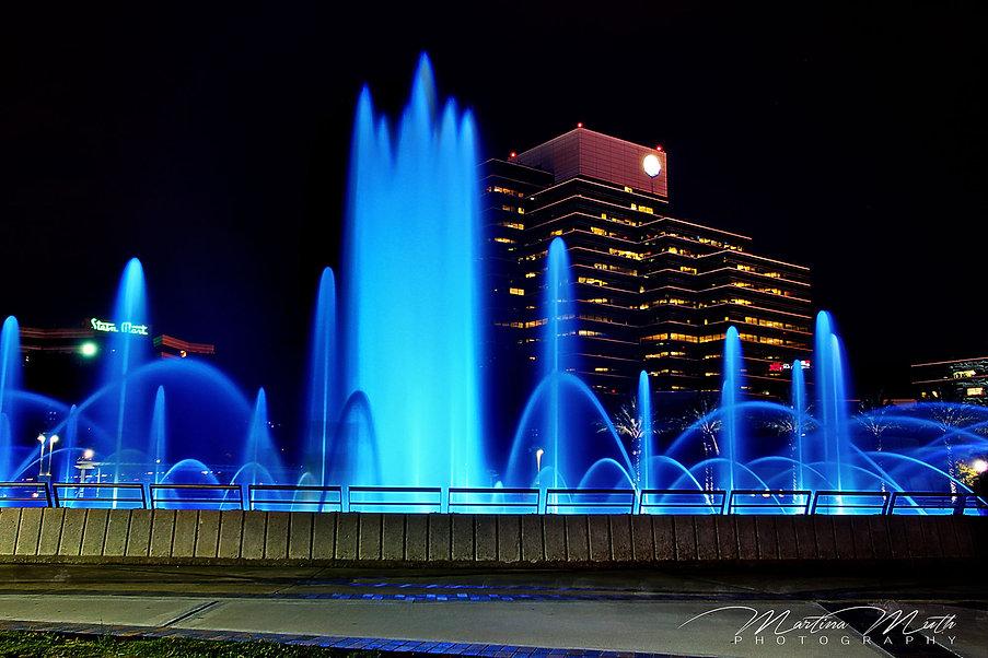 Jacksonville - Friendship Park bei Nacht