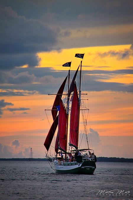 Sailing, Sunset, Key West